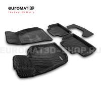 3D коврики Euromat3D EVA в салон для Bmw 4 (G22/23) (2020-) № EM3DEVA-001225